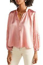 NWT $375 Apiece Apart Bravo Hammered Silk Blouse; 0