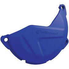 Polisport 8458400002 Clutch Cover Protector Blue Yamaha YZ450F WR450F 2011-2019