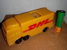 """文具收藏品:""""DHL"""" Promotional Item-Desk Top Stationery Clip Holder Plastic"""