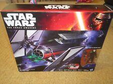 Star Wars FORCE AWAKENS TIE FIGHTER Ship Vehicle + pilot figure Hasbro Disney