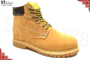 Men's 6'' Winter Snow Work Boots Shoes Water Resistant Rubber 8601