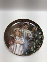 Christmas Magic December Collector Plate Sandra Kuck Collection Vintage 1985