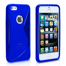 Blue Fitted Case for iPhone 5s