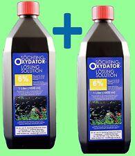 Oxydator  Lösung  6 %  2 X 1000ml Söchting Sauerstoff Filter   24 Std.Versand