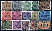 GENERAL GOVERNMENT 1940 Official set of 15 used