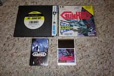 Gunhed Vol 9 (Pc Engine TurboGrafx-16, 1992) Complete JAPAN W/ Calling Card