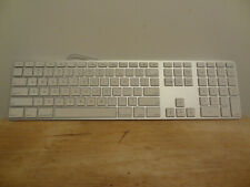 APPLE SILVER ALPHA NUMERIC WIRED KEYBOARD