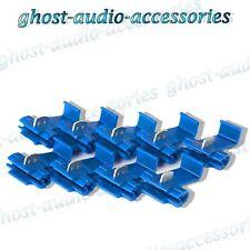 100x bleu scotchlocks / scotchlock Terminal Raccord Connecteurs pour Splice