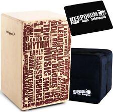 Schlagwerk CP 130 X-One Styles Cajon + keepdrum  Gig Bag + Pad CP-01