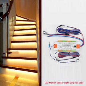 32 Channel Dimming Light led Motion Sensor controller for DIY Stair ladder light
