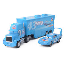 Disney Pixar Cars NO.43 King Hauler Truck & Metal Cars 2pcs Set New No Package