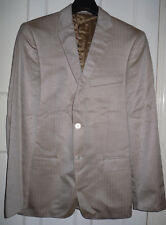 VERSACE COLLECTION MENS GOLDEN BROWN FORMAL BLAZER CHEST SIZE -UK-38 (MB16)
