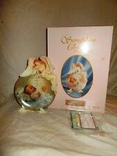 Seraphim Classics Got's Treasure Baby Girl Christening Plate Nib Nice