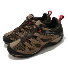 Merrell Alverstone GTX Gore-Tex Brown Black Men Outdoors Hiking Shoes J034535