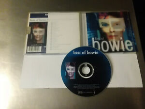 CD audio- DAVID BOWIE- BEST OF BOWIE-EMI 2002