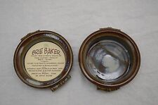 Made-in-the-USA Stoneware Brie Baker with Recipe Card