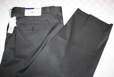 IZOD Suit Separates Flat Front Men's Pants 40 x 32 NWT Black ISSLPI3Z0000 $120