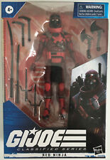 G.I. Joe Classified Series Red Ninja Action Figure Hasbro