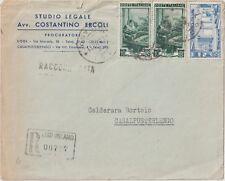 ITALIA1952 10LX2 LAVORO 60LMILANO SU RACCOMANDATA DA LODI X CASALPUSTERTERLENGOG