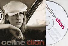 CD CARTONNE CARDSLEEVE CELINE DION ONE HEART 2 VERSIONS DE 2003