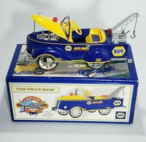 Napa Auto Parts 1940 Gendron Tow Truck Pedal Car Bank Die-Cast 1/6 Scale (New)