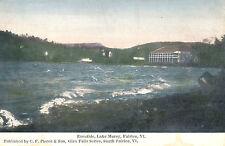 EVENTIDE, LAKE MOREY, FAIRLEE, VT. VERMONT. CASINO & HOTEL.