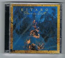 ♫ - KITARO - PEACE ON EARTH - CD 12 TITRES + DVD - 2016 - NEUF NEW NEU - ♫