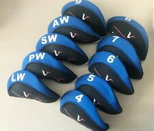 10x golf iron cover headcover fit for nikee vapor Vr_S vapor pro fly speed irons
