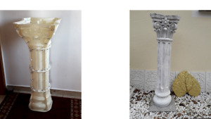 Gießform Betonform Schalungsform Abform Römische Column Säule Gr. 30 x 125cm