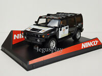 Slot Car Scalextric Ninco 50456 Hummer H2 Country Sceriffo