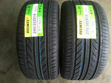NEW set of (4) 245 35 19(x2) & 275 30 19(x2) Delinte Thunder D7 series tires