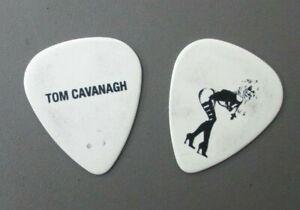Lita Ford guitar pick touring pick black on white on Tom Cavanagh !