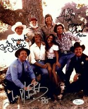 Dukes of Hazzard Multi Signed Autographed 8X10 Photo Wopat Schneider Best JSA