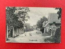 Vintage Postcard Grandborough Vicarage Winslow North Marston 1919 Bucks