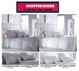Shimmer Sequins Diamante Sparkle Bedding Bling Duvet Quilt Cover Set Bed