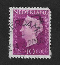 Netherlands 1947-1948 Queen Wilhelmina 10c (X3)