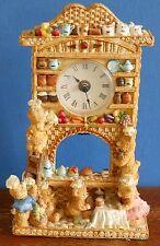 A Cherished teddies [?] Basket work dresser Clock