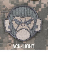 Morale Patch - MILSPEC MONKEY HEAD LOGO - ACU - LIGHT pattern - WOVEN