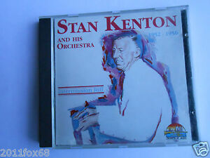 cd jazz blues soul stan kenton and his orchestra 1952-1956 giants of jazz rare v