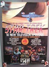 1986 Star Trek  TV Series Video Promo Poster-ROLLED