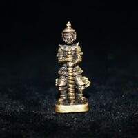 RARE Thai Amulet Authentic WESSUWAN Lord of Giant Blessed Protection Evil Spirit