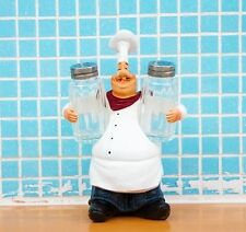 New Home Decor Kitchen Bar Restaurant Ornament Figure Statue Chef Salt Pepper