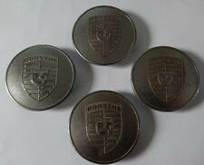 A nice set of 4, Genuine original Raised Chrome Crest Center Caps .Porsche 911/9