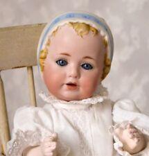 Vintage Kestner JDK by Joanne Jenkins Molded Sculpted Bonnet Doll Hilda Sister
