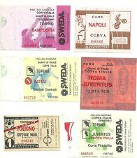 TICKET   COMO  -  NAPOLI  Saison  1981/82