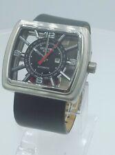 Diesel DZ4135 rare men's automatic glass case watch DZ-4135 analog 5 ATM