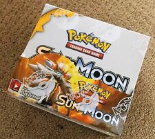 POKEMON SUN & AND MOON BOOSTER 1/4 BOX 9 PACK LOT FREE SAME DAY SHIPPING