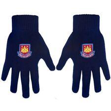 Équipements de football gants bleu