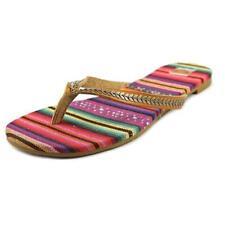 Sandali e scarpe ROXY marrone sintetico per il mare da donna