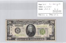 USA Etats-Unis $20 Dollars 1928 B New-York B24234352A Pick 422 b